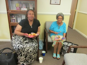 Barbara Singleton & Lula Howard at our RSVP Senior Corps Celebration Luncheon