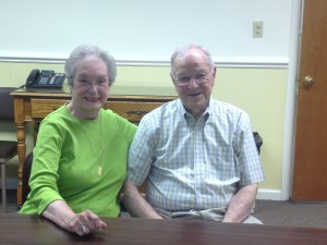 Shirley Hoffman & Bob Chaffin, RSVP Volunteers