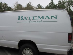 Bateman Senior Meals delivers fresh meals to our Congregate sites daily.